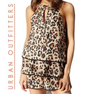 Urban Outfitters Leopards Women's  Romper NEW